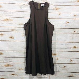 Tobi  women's dark gray sleeveless mini dress